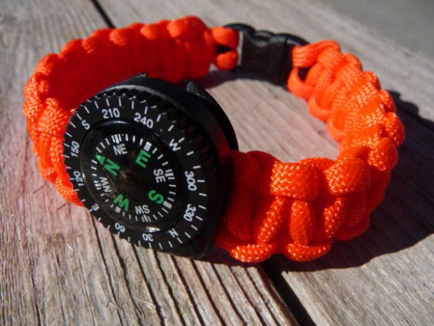 Compass | 11 Essentials On How To Make A Survival Bracelet